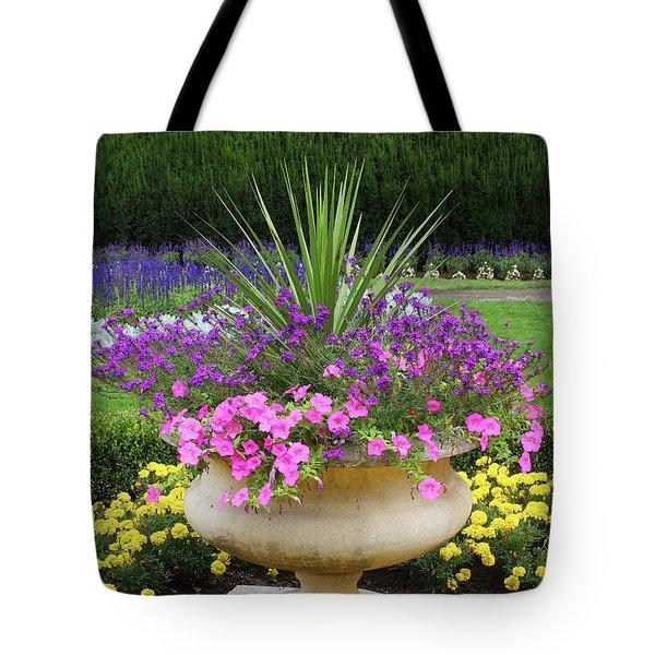 Manito Park Garden 2 Tote Bag by Ellen Tully