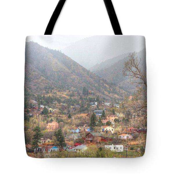Manitou To The South Iv Tote Bag by Lanita Williams