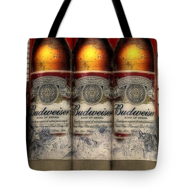 Manitowoc Bud Tote Bag by Trey Foerster