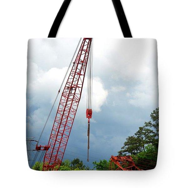 Manitowoc Crane 2015 Tote Bag