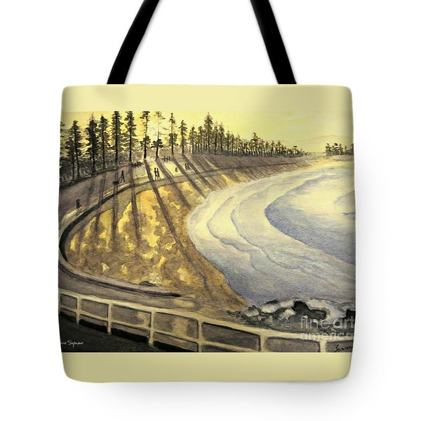 Manly Beach Sunset Tote Bag