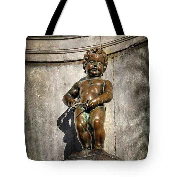 Manneken Pis Brussels Belgium  Tote Bag