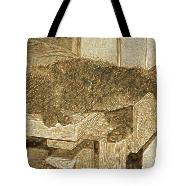 Mannie Is Relaxing Tote Bag
