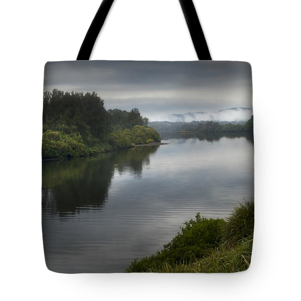 Tote Bag featuring the photograph Manning River Taree 000001 by Kevin Chippindall