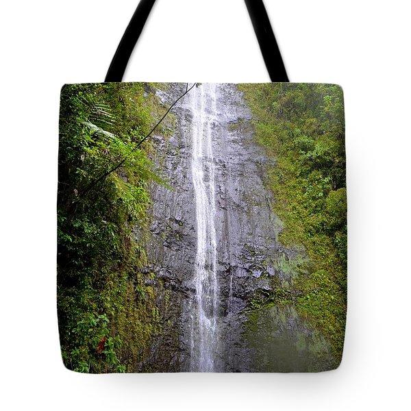 Manoa Falls - Honolulu Hawaii Tote Bag