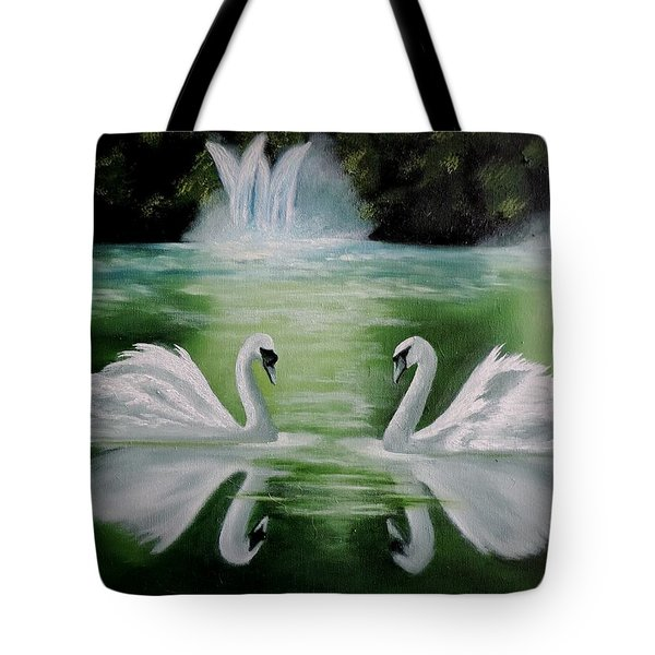 Monogamy Tote Bag by Dianna Lewis