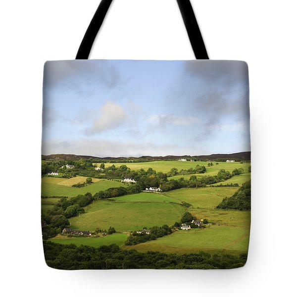 Tote Bag featuring the photograph Manors On A Hillside by Christi Kraft