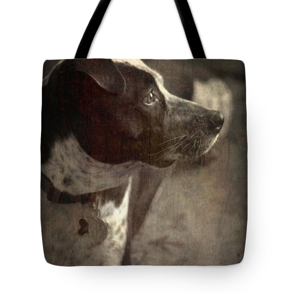 Tote Bag featuring the photograph Mans Best Friend Iv by Suzanne Powers