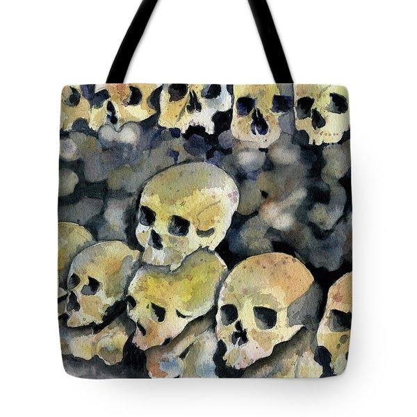 Mans Inhumanity To Man Tote Bag