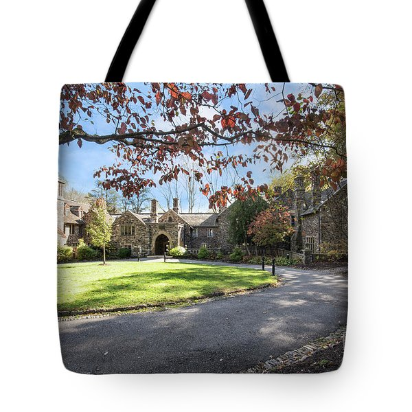 Mansion At Ridley Creek Tote Bag