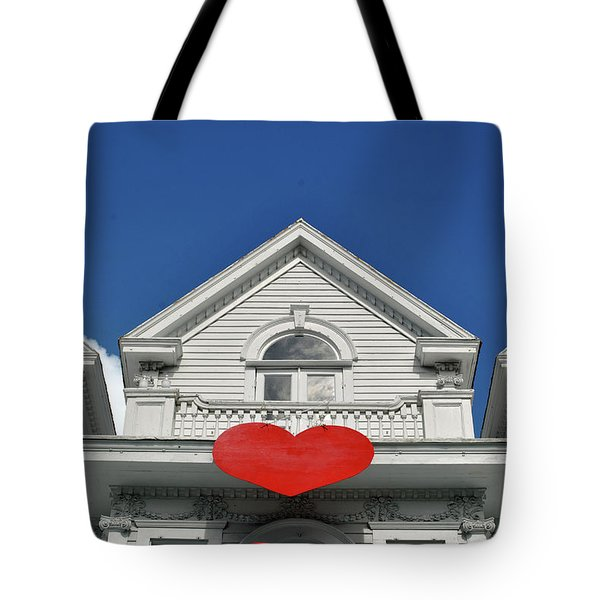 Tote Bag featuring the photograph Mansion Of Love by Jost Houk