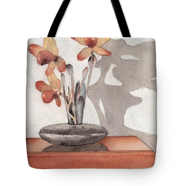 Mantel Flowers Tote Bag