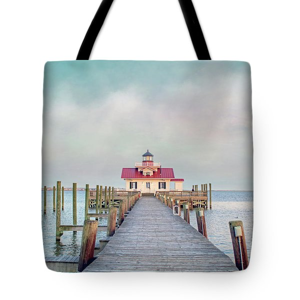 Manteo Lighthouse Tote Bag