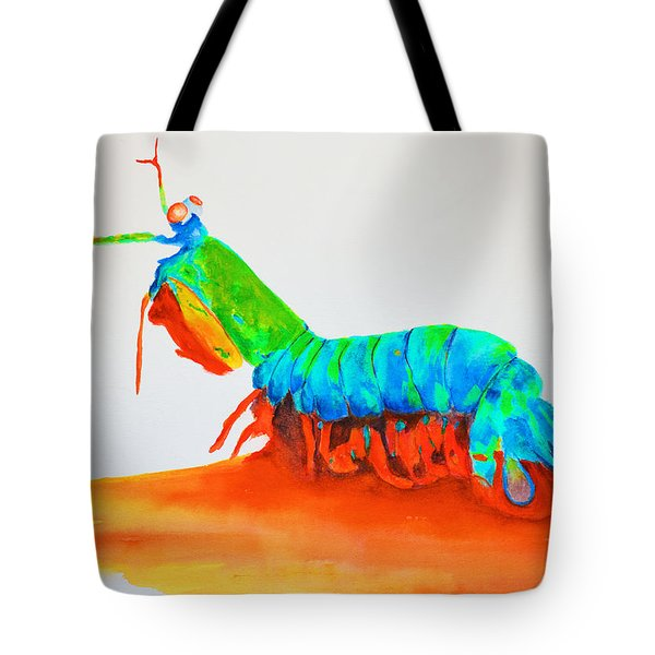 Mantis Shrimp Tote Bag