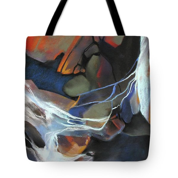 Mantled Epoch Tote Bag by Rae Andrews