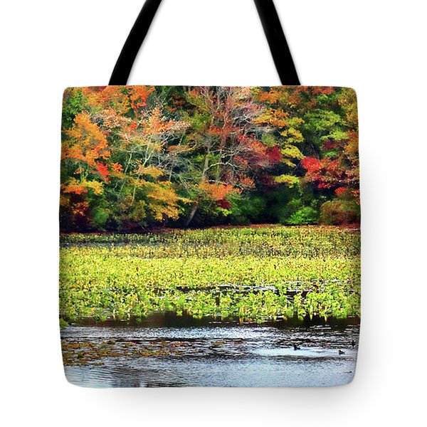 Many Colors Of Autumn Tote Bag