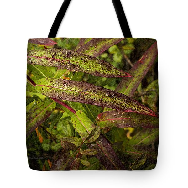 Many Colors Of Fall Fireweed Tote Bag
