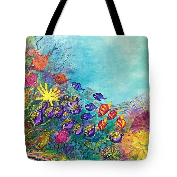 Many Colours Tote Bag