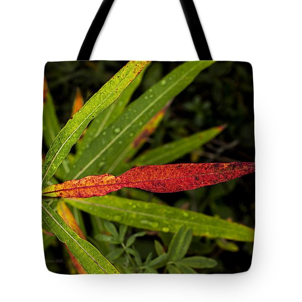 Many Faces Of Fireweed 2 Tote Bag