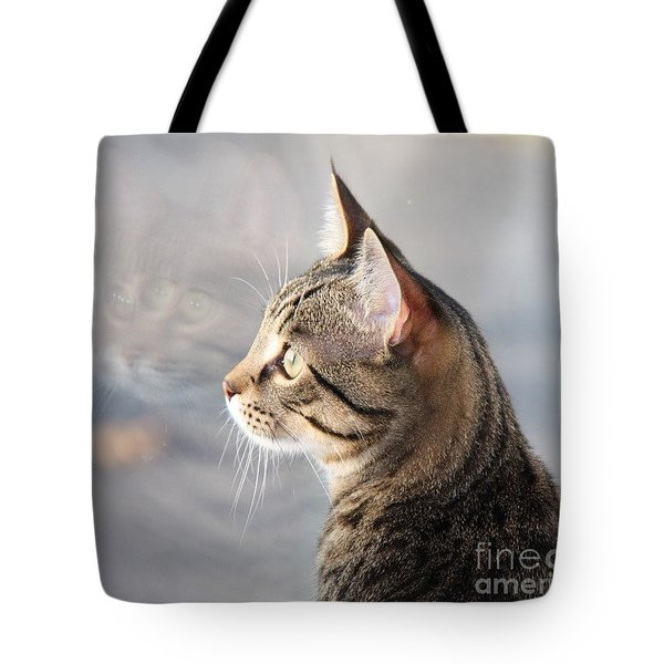 Many Faces Of Monty.. Tote Bag