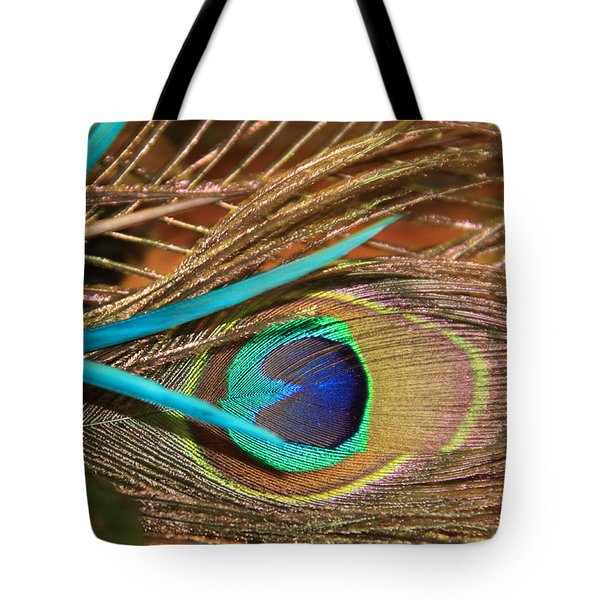 Many Feathers Tote Bag
