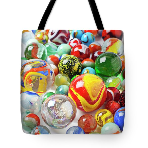 Many Marbles  Tote Bag by Garry Gay