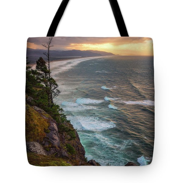 Tote Bag featuring the photograph Manzanita Sun by Darren White