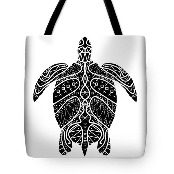 Maori Turtle Tote Bag