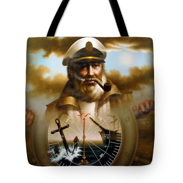 Map Captain 8 Tote Bag