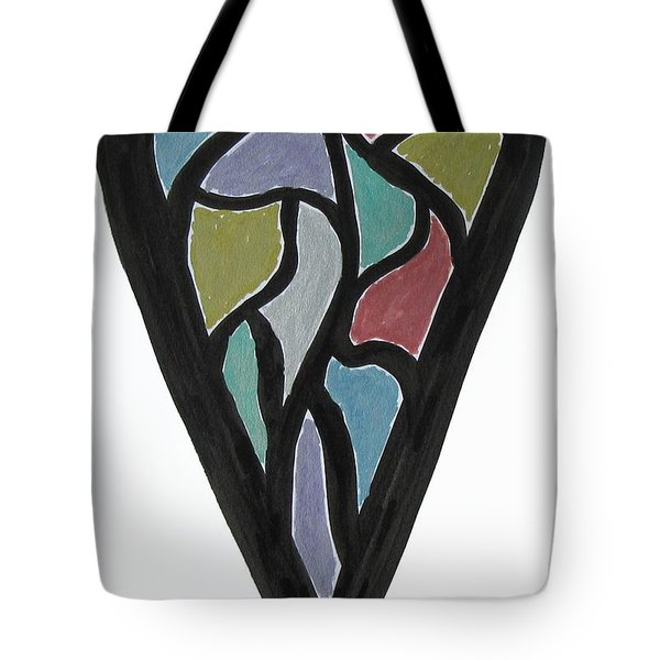 Map Heart Tote Bag