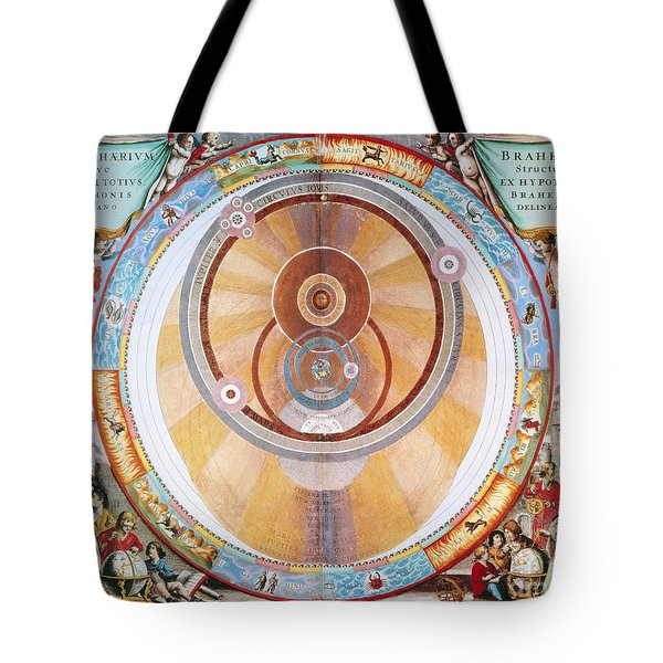 Map Of The Universe, 1660 Tote Bag by Granger