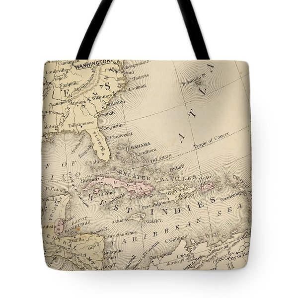 Map Tote Bag by Sample