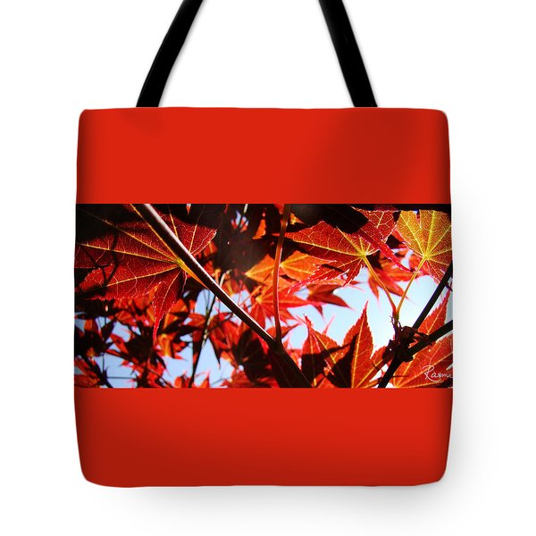 Maple Fire Tote Bag