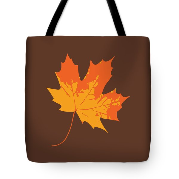 Tote Bag featuring the digital art Maple Leaf by Jennifer Hotai