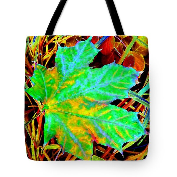 Maple Mania 21 Tote Bag by Will Borden