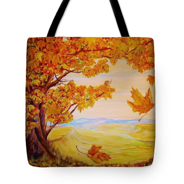 Maple One Fifty Tote Bag by Cathy Long