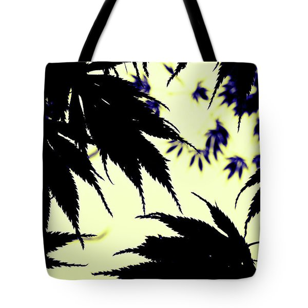 Maple Silhouette Tote Bag