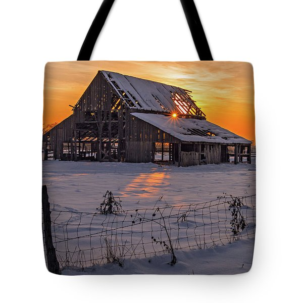 Mapleton Barn Tote Bag