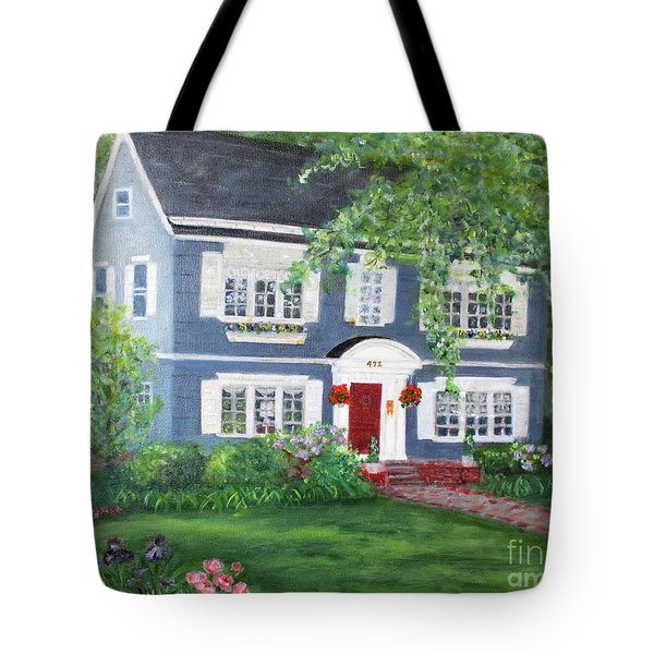 Maplewood Colonial Tote Bag