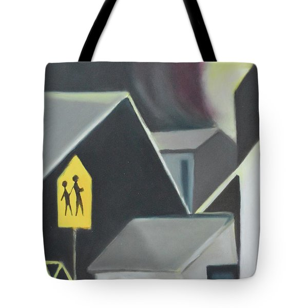 Maplewood Crossing Tote Bag by Ron Erickson