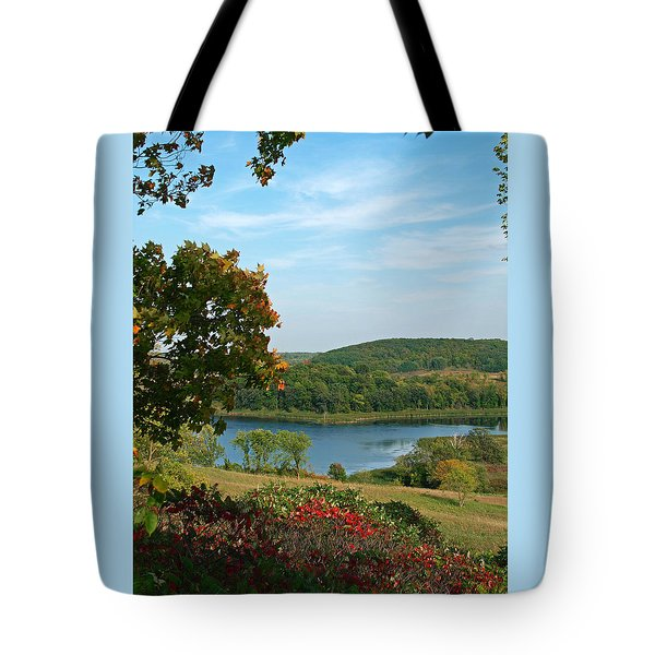Tote Bag featuring the photograph Maplewood State Park by James Peterson