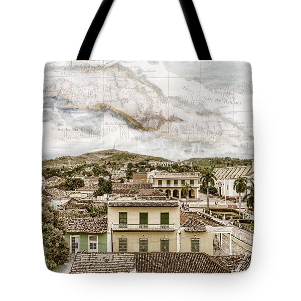 Mapping Trinidad Tote Bag