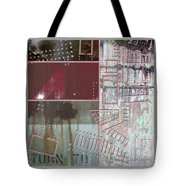 Maps #17 Tote Bag