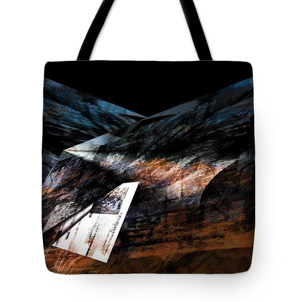 Tote Bag featuring the digital art Maps by Art Di
