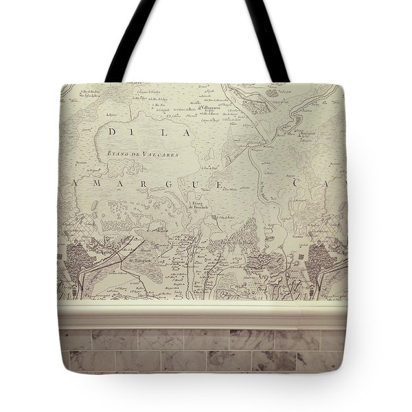 Maps Tote Bag by Cortney Herron