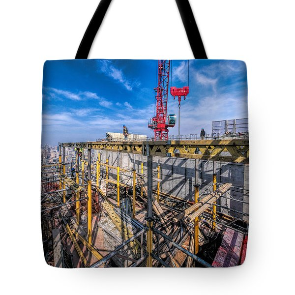 Tote Bag featuring the photograph Mar 7 2016 Pano by Steve Sahm