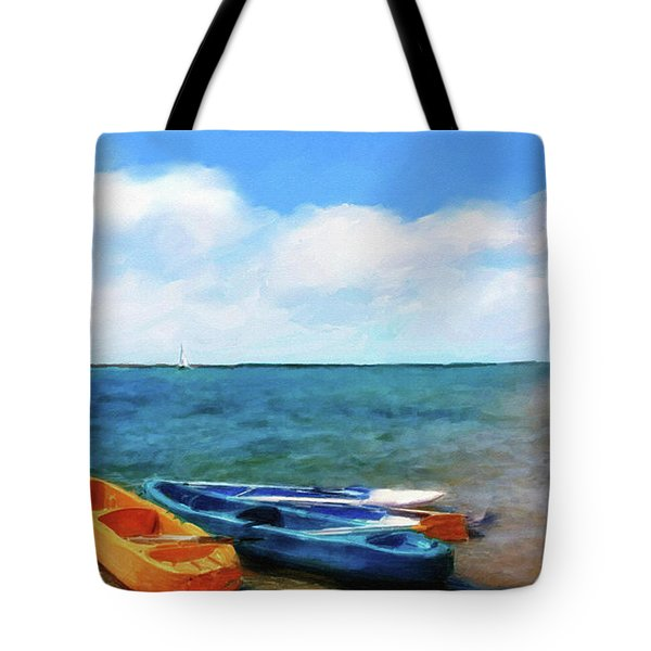 Mar Beach Tote Bag by Shirley Stalter