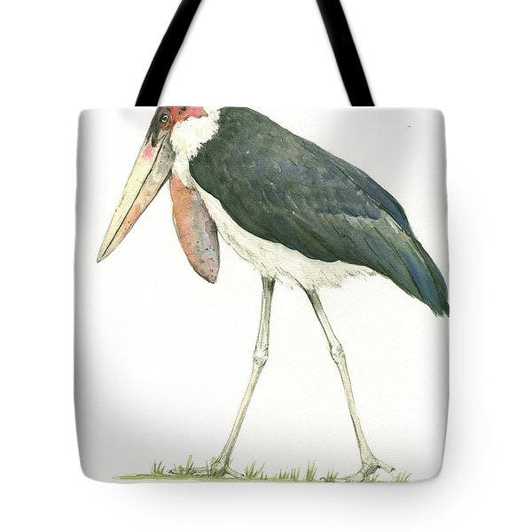 Marabou Tote Bag