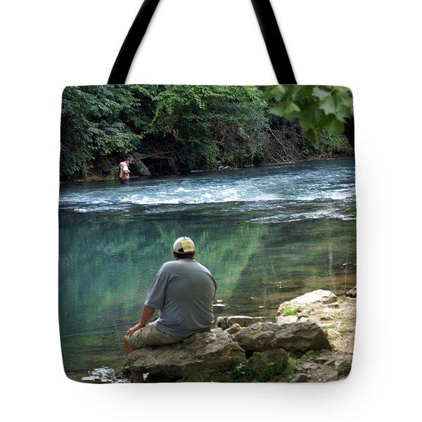 Maramec Springs 6 Tote Bag by Marty Koch