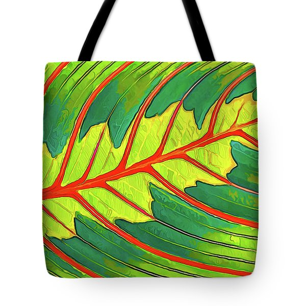 Maranta Red 2 Tote Bag